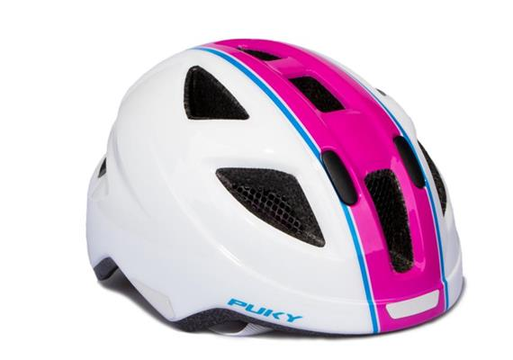 Puky 9595 - Helm PH8 M/L weiss/pink (51 - 56 cm)
