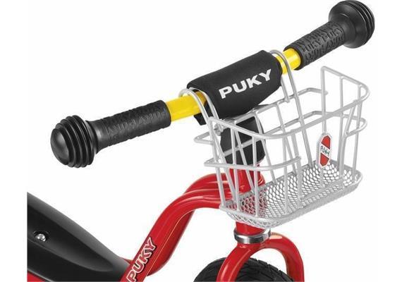 Puky - Lenker-Korb Laufrad - silber