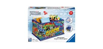 Puzzle 3D Box Graffiti