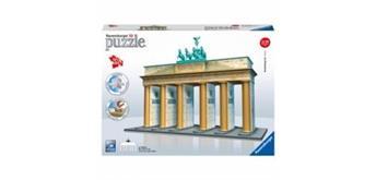 Puzzle 3D Brandenburger Tor, 324 Teile Kunststoff,