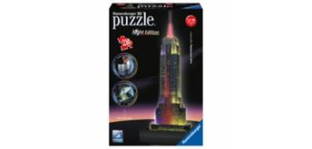 Puzzle 3D Night Edition, Empire State Building,