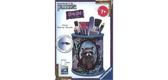 Puzzle 3D Utensilo Animal, Girly Girl Edition, H: 9 cm,