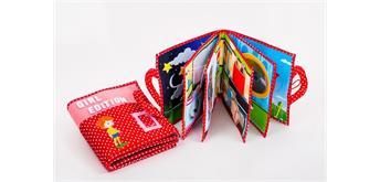 Quiet Book Stoffbuch Girl Edition mit 10 spannenden Seiten