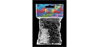 Rainbow Loom® Gummibänder grau opaque