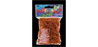 Rainbow Loom® Gummibänder karamell opaque