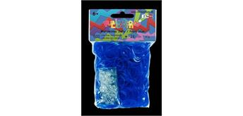 Rainbow Loom® Gummibänder marineblau jelly