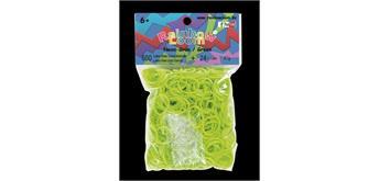 Rainbow Loom® Gummibänder neon grün opaque