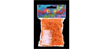 Rainbow Loom® Gummibänder neon orange opaque