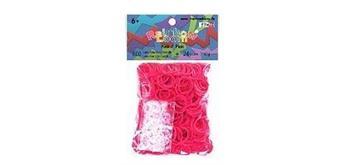 Rainbow Loom® Gummibänder pink opaque