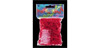 Rainbow Loom® Gummibänder pupurrot / fuchsia