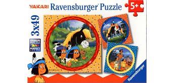Ravensburger 08000 Yakari, tapferer Indianer Puzzle