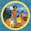Ravensburger 08000 Yakari, tapferer Indianer Puzzle | Bild 2