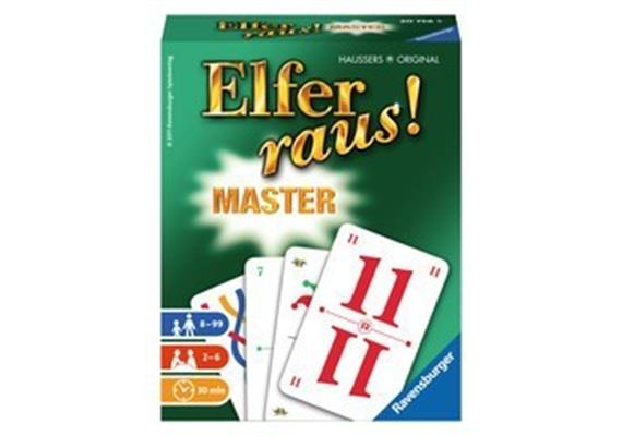Ravensburger Elfer raus Master,2-6 Sp., 8+