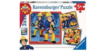 Ravensburger Puzzle 05077 Feuerwehrman Sam unser Held