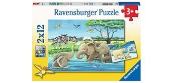 Ravensburger Puzzle 05095 Tierkinder aus aller Welt