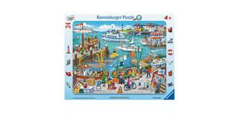 Ravensburger Puzzle 06152 Ein Tag am Hafen, Rahmenpuzzle