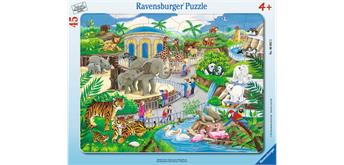 Ravensburger Puzzle 06661 Besuch im Zoo