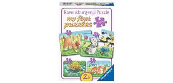 Ravensburger Puzzle 06951 Niedliche Haustiere 2/4/6 und 8 Teile