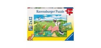 Ravensburger Puzzle 07582 Tierkinder a.d. Land