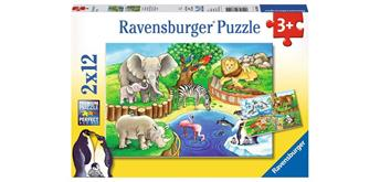 Ravensburger Puzzle 07602 Tiere im Zoo
