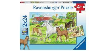 Ravensburger Puzzle 07833 Auf dem Pferdehof