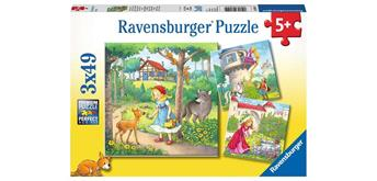 Ravensburger Puzzle 08051 Rapunzel, Rotkäppchen und ...