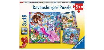 Ravensburger Puzzle 08063 Meerjungfrauen