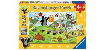 Ravensburger Puzzle 08861 Maulwurf im Garten