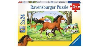 Ravensburger Puzzle 08882 Welt der Pferde