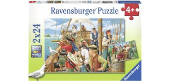 Ravensburger Puzzle 09019 Bei den Piraten