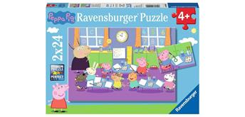 Ravensburger Puzzle 09099 Peppa in der Schule