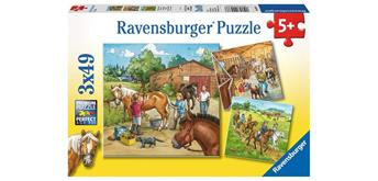 Ravensburger Puzzle 09237 Mein Reiterhof
