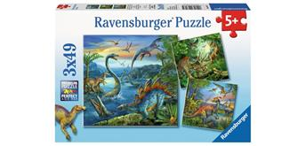 Ravensburger Puzzle 09317 Faszination Dinosaurier