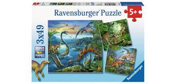 Ravensburger Puzzle 09317 Faszination Dinosaurier