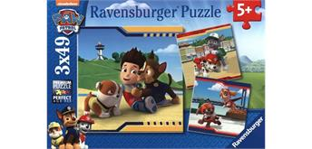 Ravensburger Puzzle 09369 Paw Patrol, Helden mit Fell Puzzle