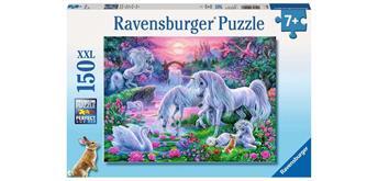 Ravensburger Puzzle 10021 Einhörner im Abendrot