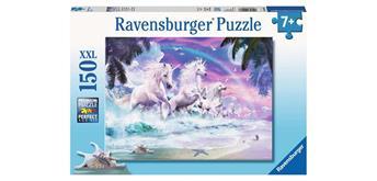 Ravensburger Puzzle 10057 Einhörner am Strand