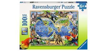Ravensburger Puzzle 10540 Tierisch um die Welt