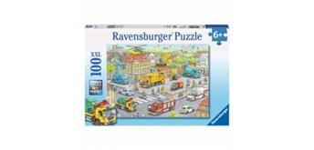 Ravensburger Puzzle 10558 Fahrzeuge in d. Stadt 6+