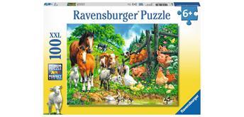 Ravensburger Puzzle 10689 Versammlung der Tiere