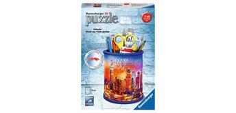 Ravensburger Puzzle 11201 - 3D Utensilo Skyline
