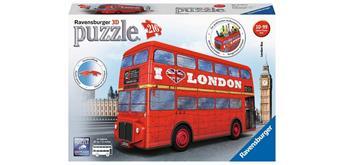 Ravensburger Puzzle 12534 3D London Bus
