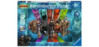 Ravensburger Puzzle 12629 Die Drachenreiter