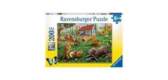 Ravensburger Puzzle 12828 Entdecker auf vier Pfoten