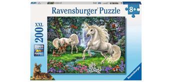 Ravensburger Puzzle 12838 Geheimnisvolle Einhörner
