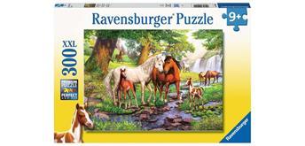 Ravensburger Puzzle 12904 Wildpferde am Fluss