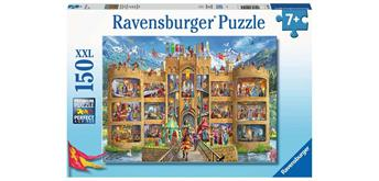 Ravensburger Puzzle 12919 Blick in die Ritterburg