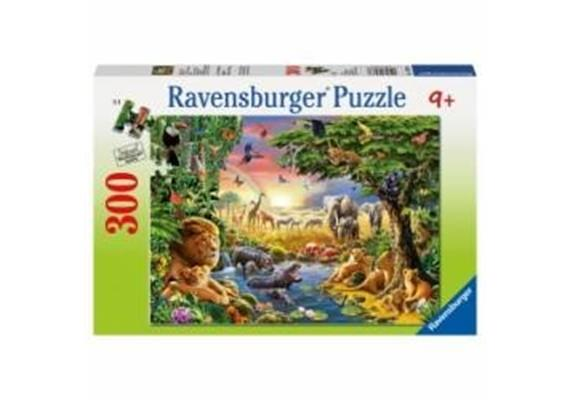 Ravensburger Puzzle 13073 Abendsonne am Wasser 300 Teile