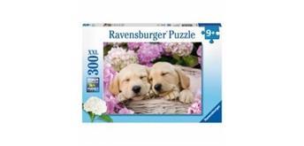 Ravensburger Puzzle 13235 Hunde im Körbchen
