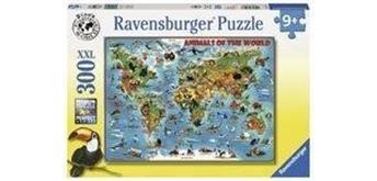 Ravensburger Puzzle 13257 Tiere rund um die Welt